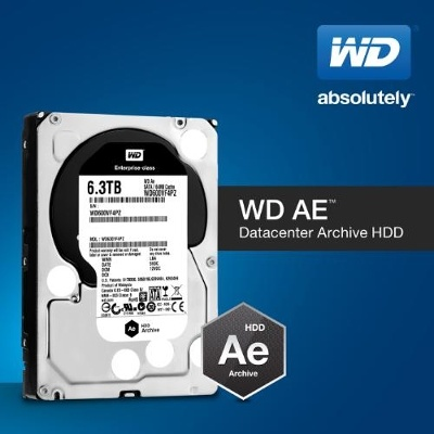 WD introduces Cold-Data-Storage HDDs optimized for datacenters