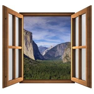 Magic Window brings views from Yosemite Park to your Mac