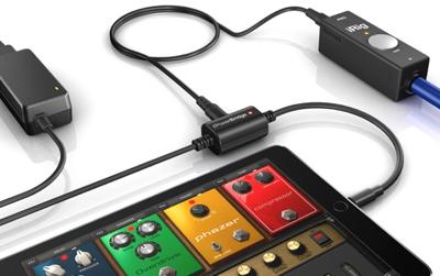 IK Multimedia ships the iRig PowerBridge