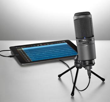 Kool Tools: AT2020USBi Cardioid Condenser USB Microphone