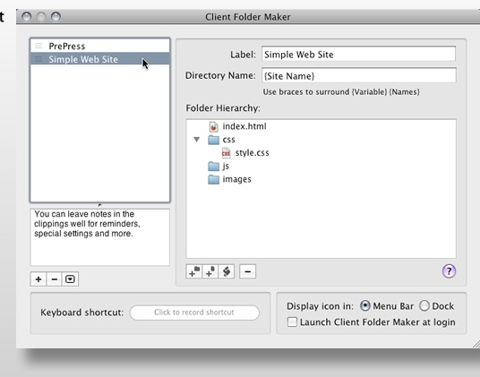 GeekSuit announces beta test of Client Folder Maker 4.5 for OS X
