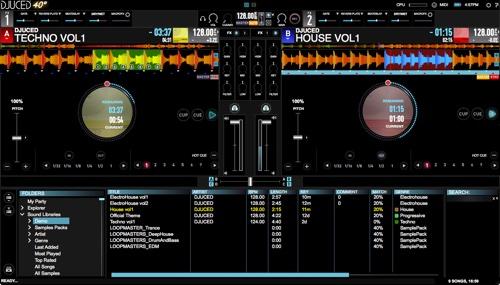 DJUCED premieres pro DJ software