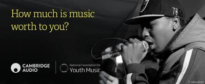 Cambridge Audio releases earphones to raise money for Youth Music