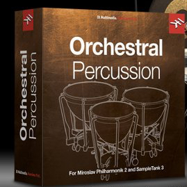 IK Multimedia releases Orchestral Percussion