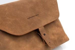 Kool Tools: Maverick leather laptop messenger
