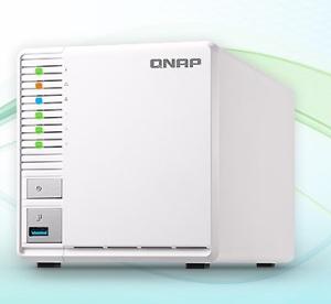 QNAP ships its first 3-bay TS-328 RAID 5 NAS