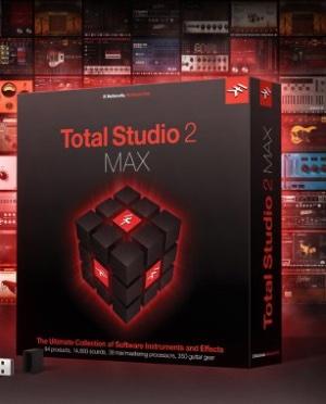 IK Multimedia announces Total Studio 2 MAX