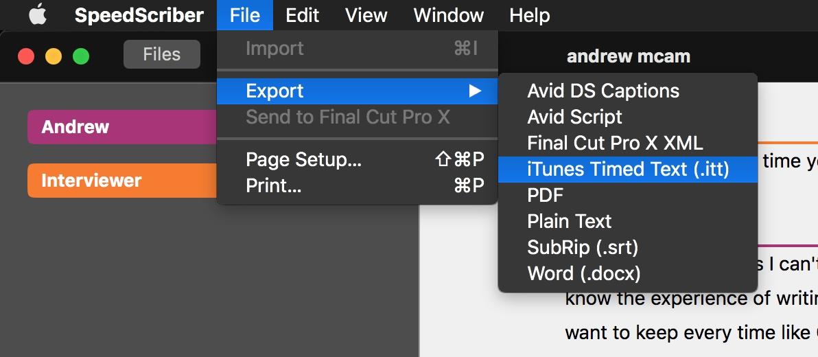 SpeedScriber 2.0 adds five new languages and enhanced captions export