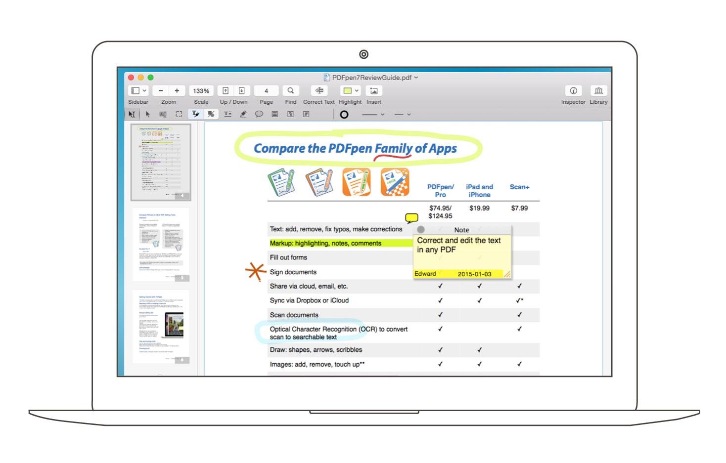 PDFpen 10.1 improves filling forms, link visibility, AppleScript