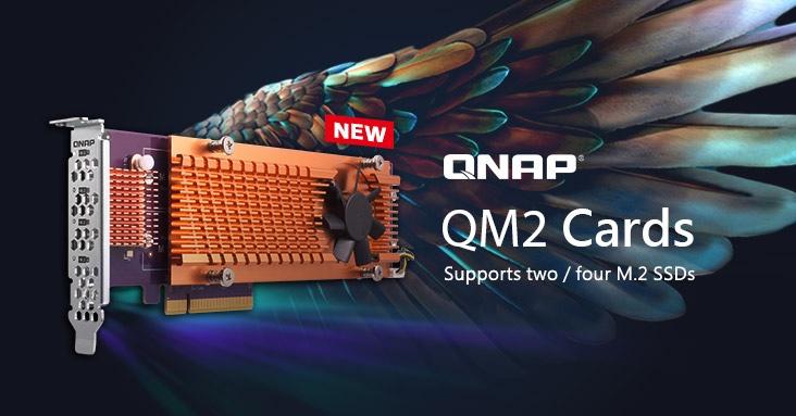Kool Tools: QNAP QM2 PCIe cards