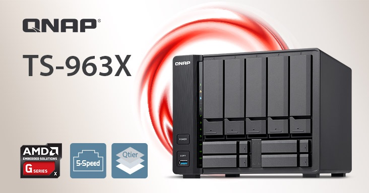 QNAP launches TS-963X NAS