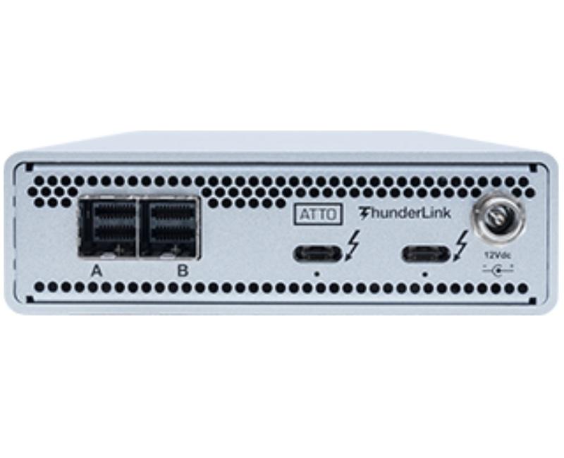 ATTO ships its ThunderLink 3128 Thunderbolt 3 Adapter
