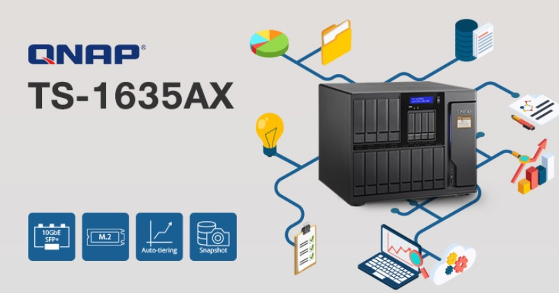 Kool Tools: QNAP TS-1635AX 16-bay NAS