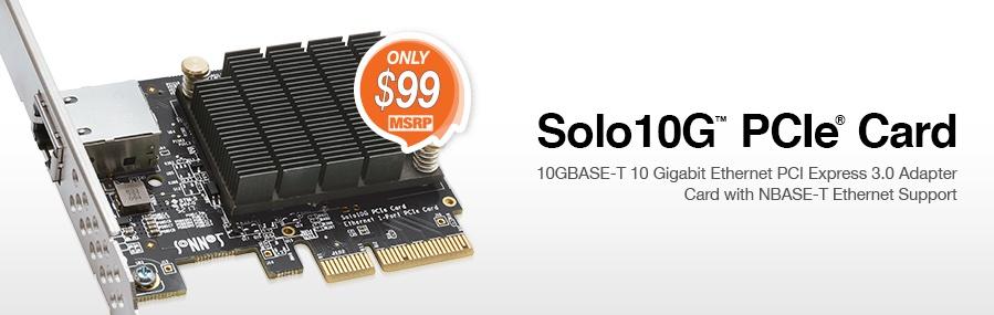 Sonnet announces 10 Gigabit Ethernet PCIe Card for under $100