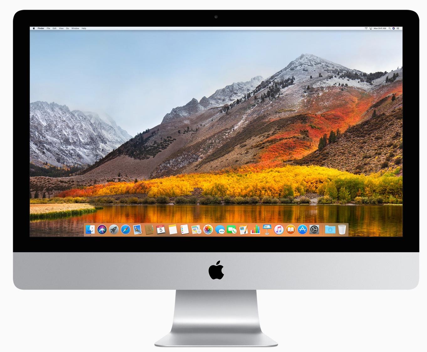Apple releases macOS High Sierra 10.13.5