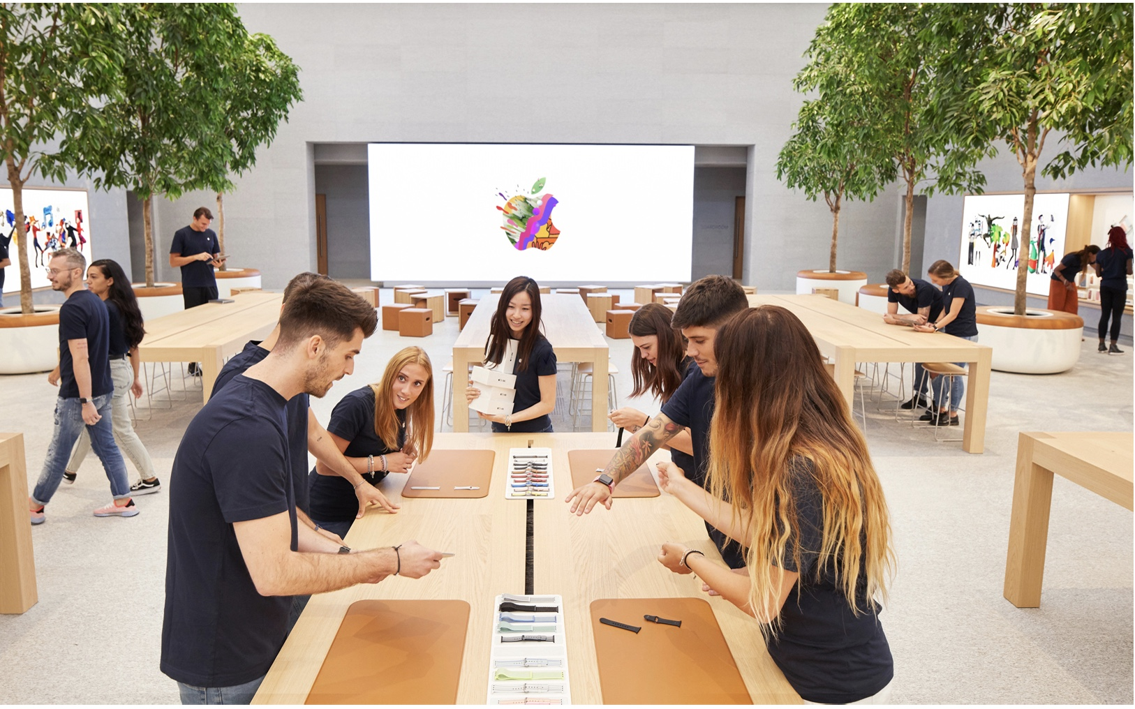 Apple Piazza Liberty opens Thursday in Milan