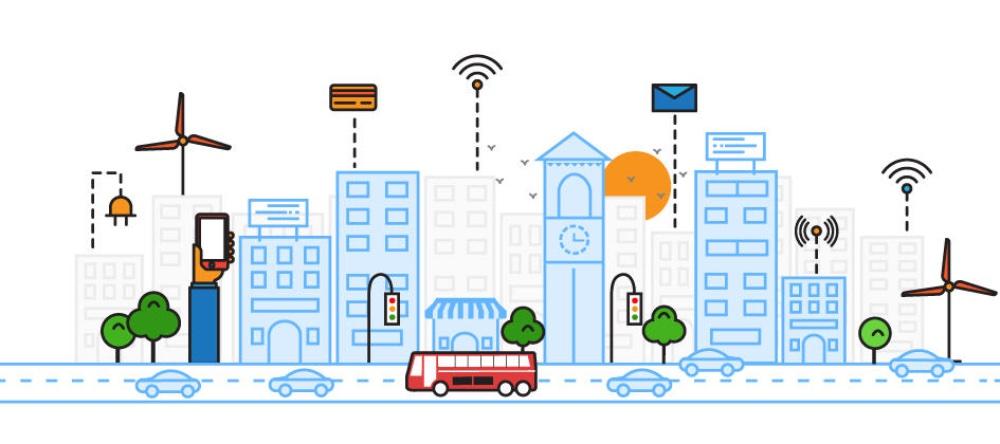Self-powering smart cities