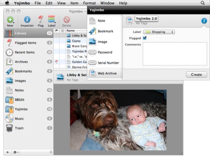 Bare Bones Software has released Yojimbo 4.1.2 for macOS