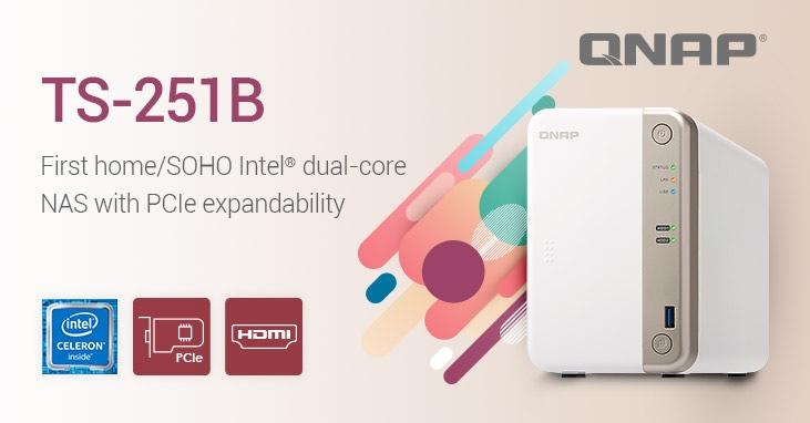QNAP releases Intel dual-core TS-25B