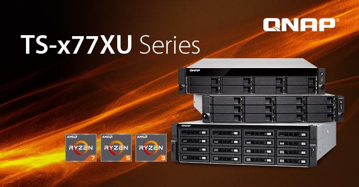 QNAP unveils the TSx-77XU rackmount NAS series