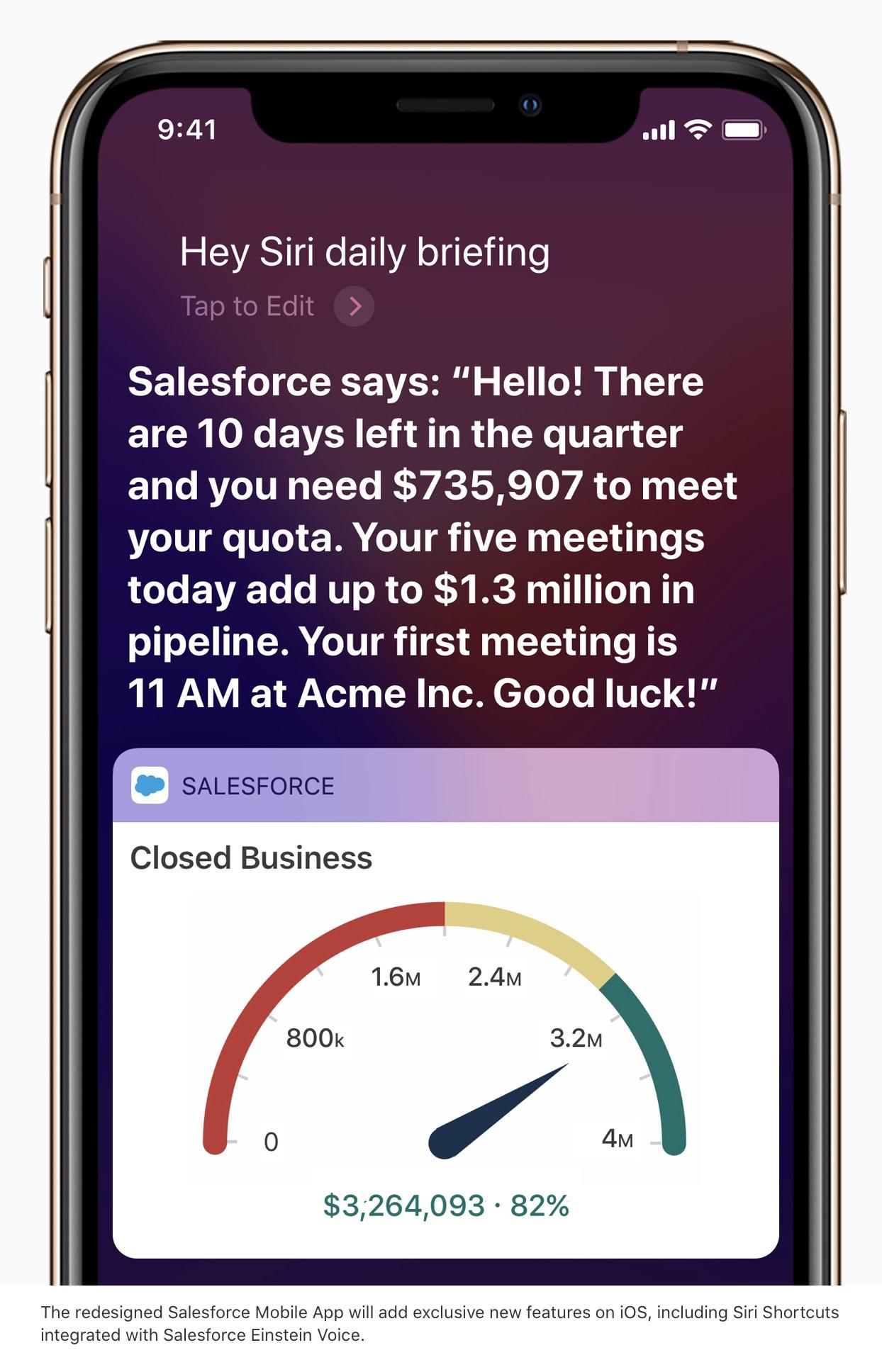 Apple, Salesforce announce a strategic partnership