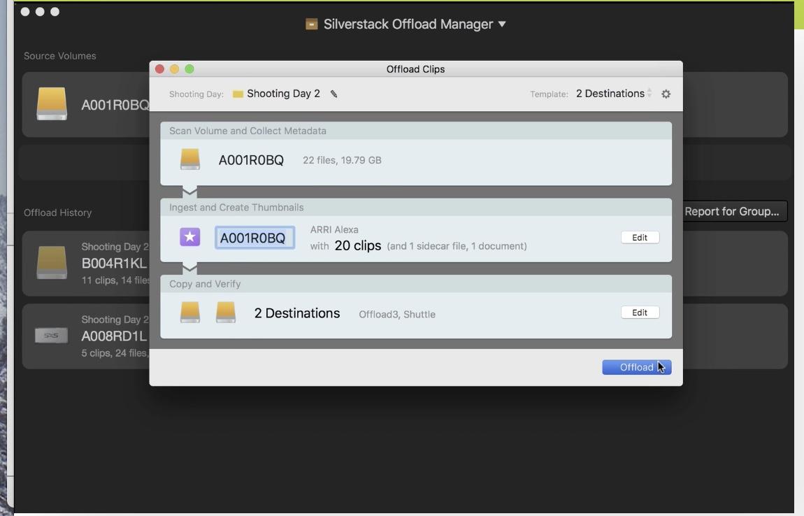 Kool Tools: Silverstack Offload Manager