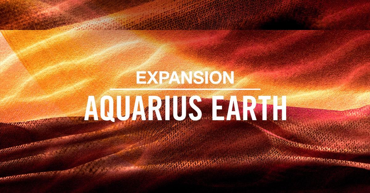 Native Instruments releases AQUARIUS EARTH