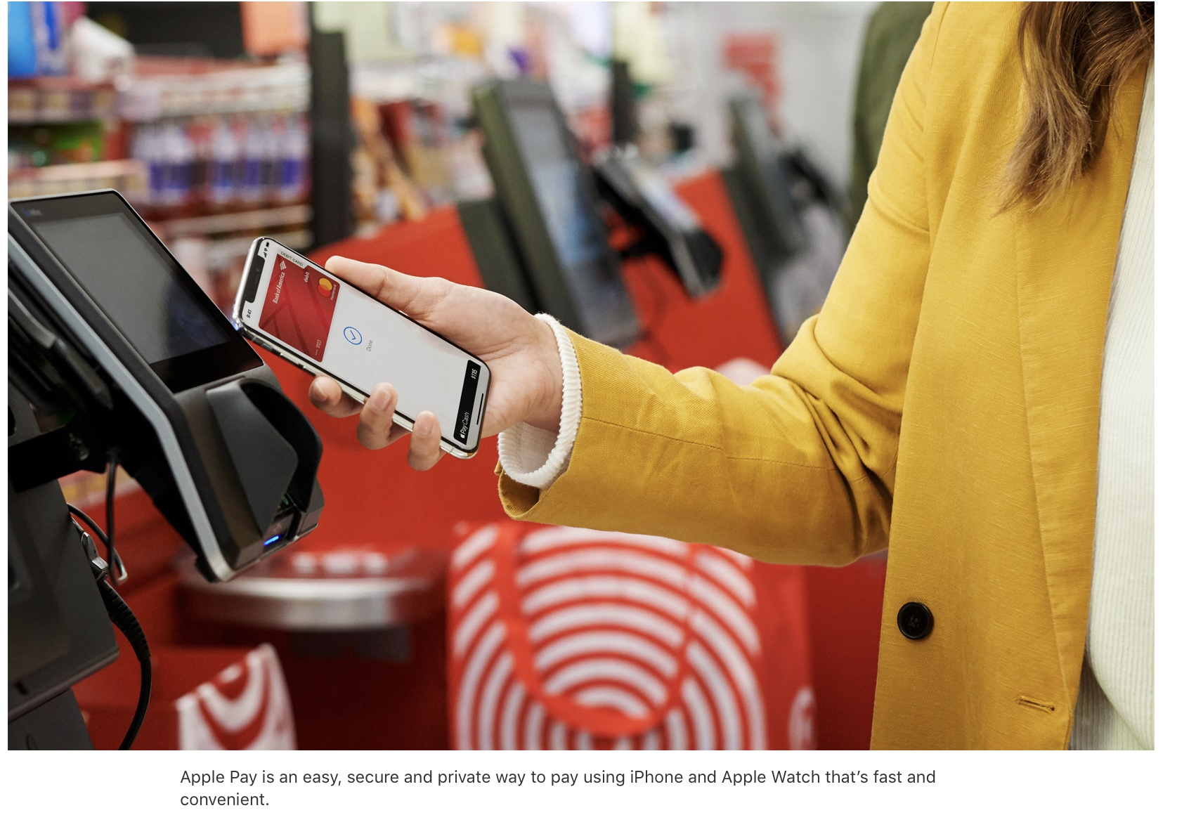 Apple Pay coming to Target, Taco Bell, more U.S. retail locations