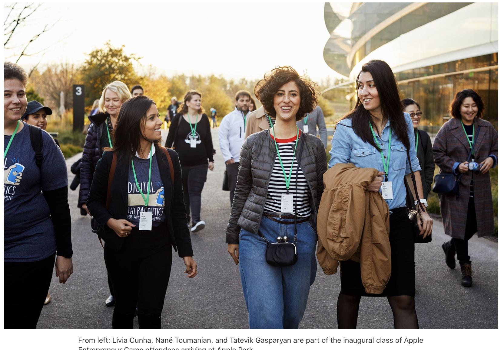 Apple Entrepreneur Camp gets underway