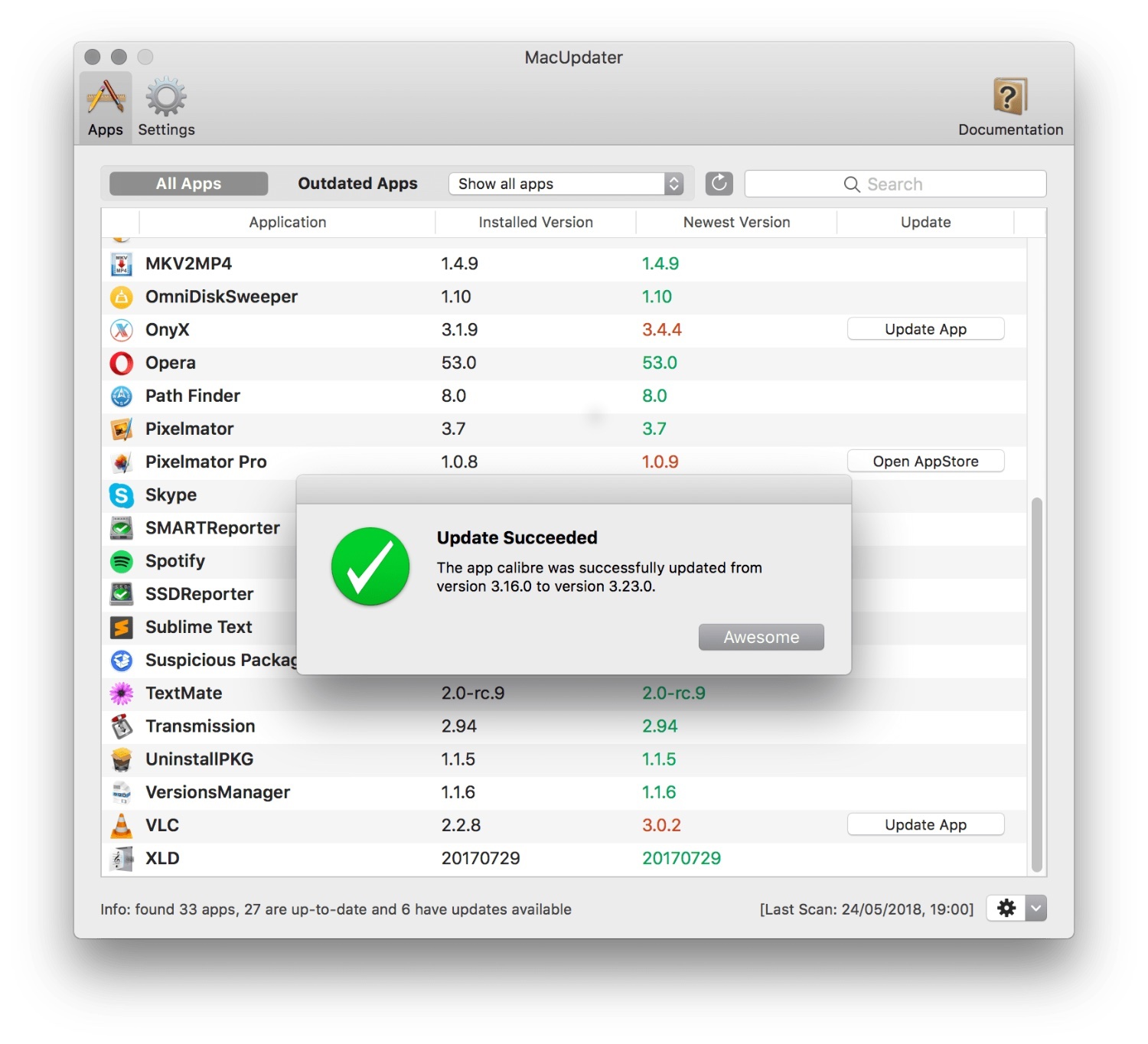 MacUpdater can now update multiple apps at once