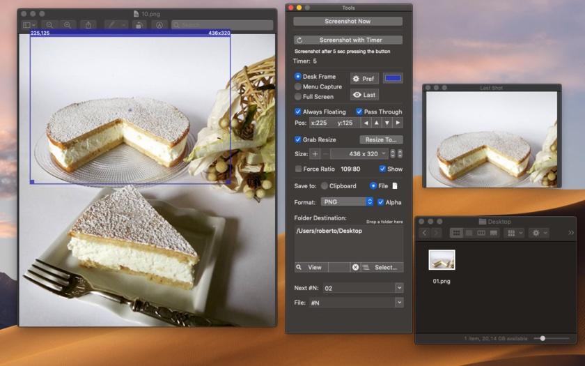 Precise Screenshot 2.2 optimized for macOS Mojave