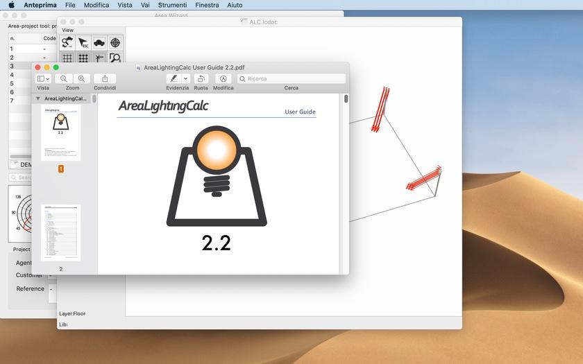 Brotens presents Area Lighting Calc 2.2 for macOS