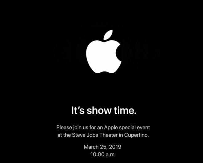 Apple announces March 25 event