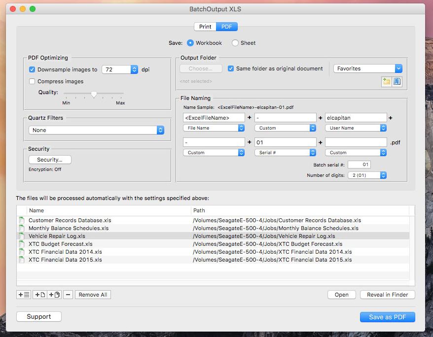 Zevrix Solutions releases BatchOutput XLS 2.5.6
