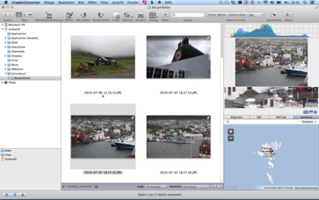 GraphicConverter 10.7 adds Dehaze Batch Action, new JPEG Convert Service