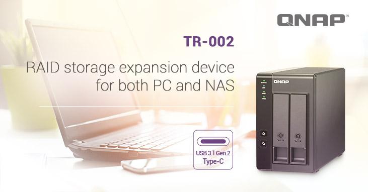 QNAP unveils new 2-bay RAID expansion enclosure