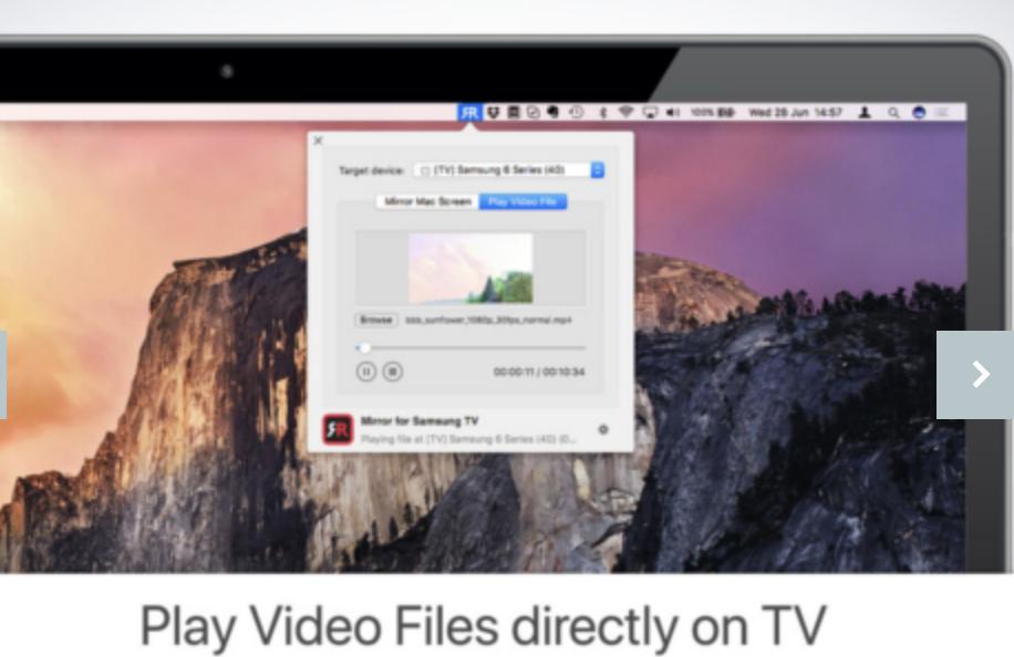 AirBeam TV launches Hisense TV for the Mac