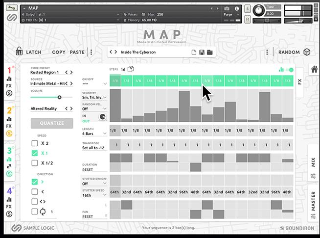 Sample Logic, Soundiron team up for MAP drum machine