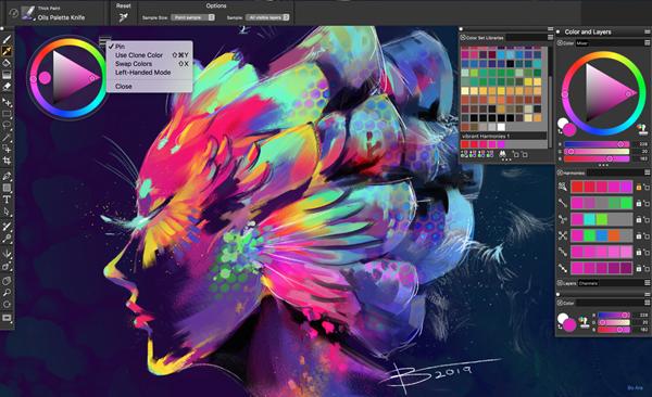 Corel debuts Painter 2020 for macOS, Windows