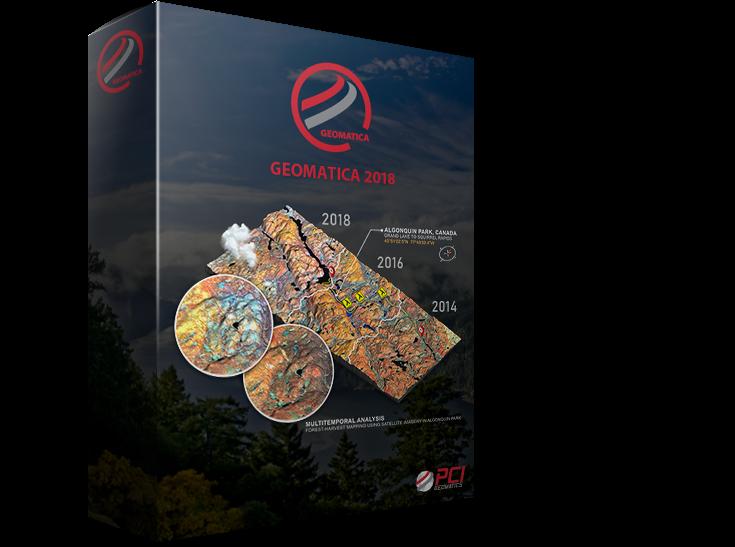 PCI Geomatics releases Geomatica 2018, Service Pack 2e