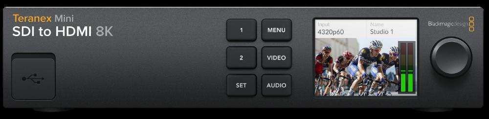 Blackmagic Design previews Teranex Mini SDI to DisplayPort 8K HDR