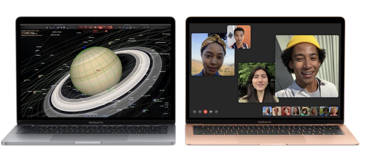 MacBook Air, MacBook Pro updated for back-to-school season