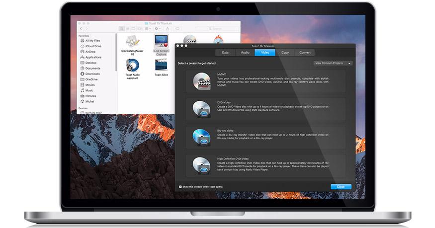 Roxio announces Toast 18 for macOS