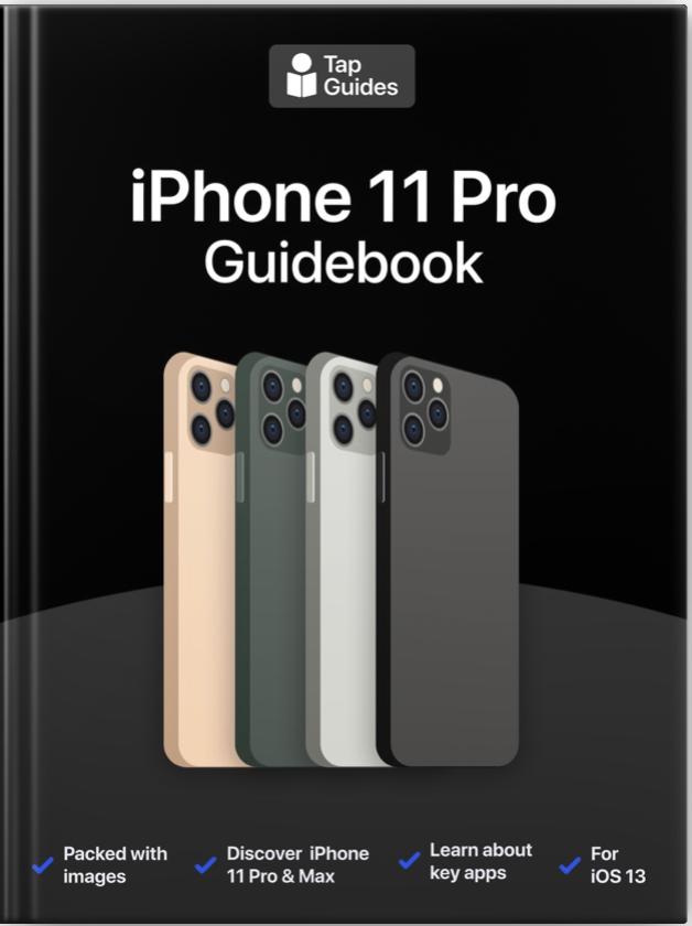 iPhone 11 Pro Guidebook released