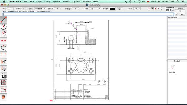 2D CAD Program CADintosh 8.5 adds DWG Export, WYSIWYG Font Menu, more