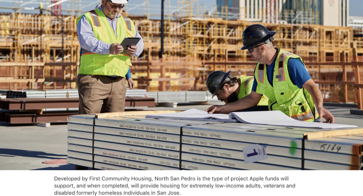 Apple commits $2.5 billion to combat housing crisis in California