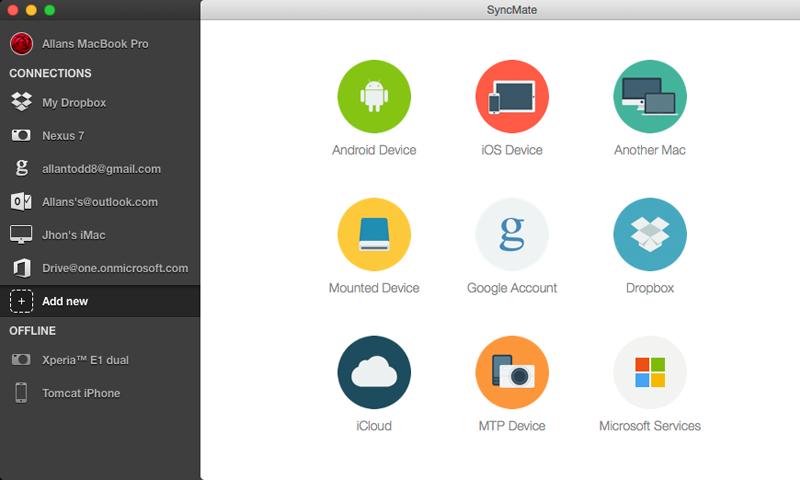 SyncMate 8 ready for macOS Catalina, iOS 13