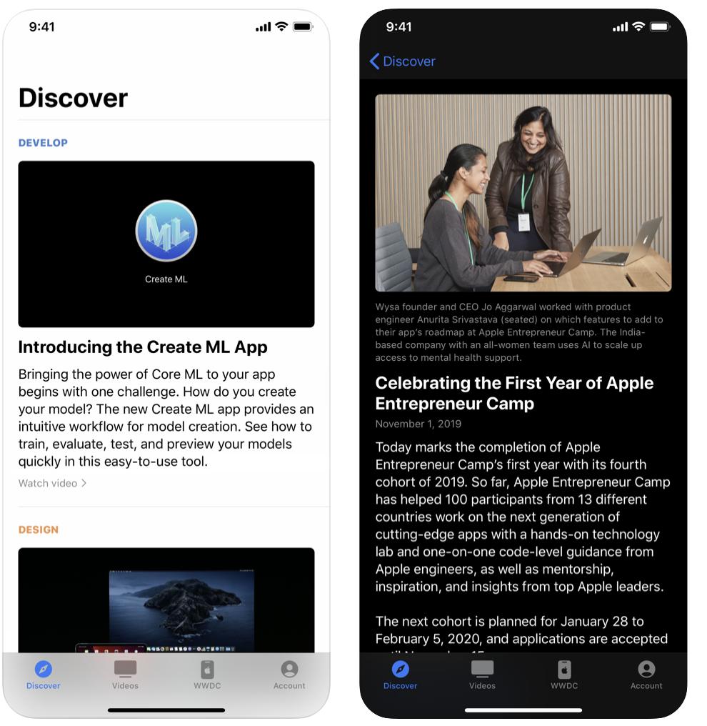 Apple Developer app revved to version 8.1