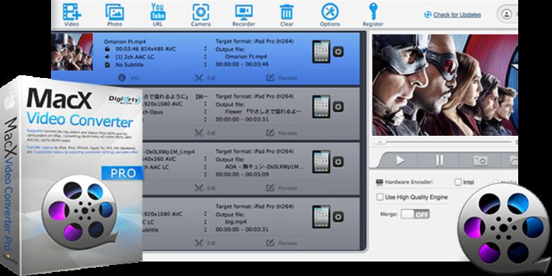MacX Video Converter Pro 6.5.0 released with AV1 downloader, decoder
