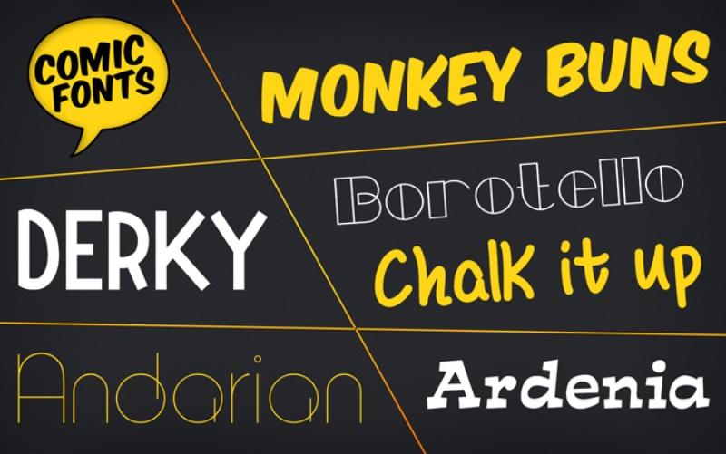 128bit Technologies announces Comic Fonts